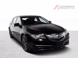 Used 2017 Acura TLX Tech Pack AWD V6 A/C Mags Cuir Toit GPS Caméra for sale in Île-Perrot, QC
