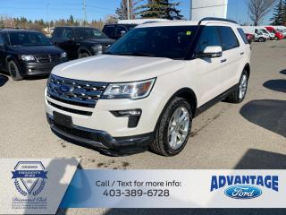 Used 2018 Ford Explorer Limited MOONROOF - LEATHER - LOW KMS for sale in Calgary, AB