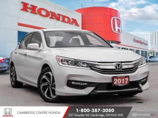 Used 2017 Honda Accord EX REARVIEW CAMERA | POWER SUNROOF | LANEWATCH™ CAMERA for sale in Cambridge, ON