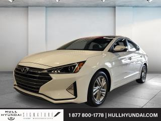 Used 2020 Hyundai Elantra Preferred w-Sun & Safety Package IVT for sale in Gatineau, QC