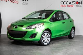 Used 2013 Mazda MAZDA2 GX A/C+GR.ELECTRIQUE for sale in Boisbriand, QC