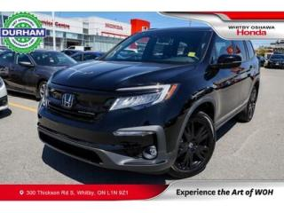 Used 2021 Honda Pilot Black Edition AWD for sale in Whitby, ON