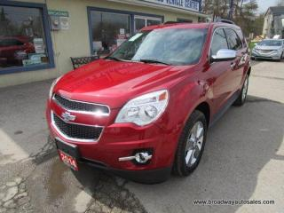 Used 2014 Chevrolet Equinox LOADED 2-LT EDITION 5 PASSENGER 3.6L - V6.. LEATHER.. HEATED SEATS.. BACK-UP CAMERA.. BLUETOOTH SYSTEM.. POWER SUNROOF.. PIONEER AUDIO.. for sale in Bradford, ON