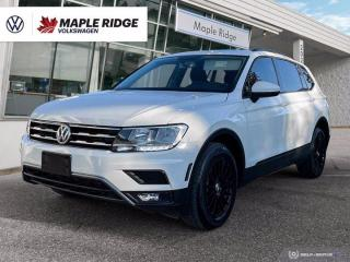 Used 2018 Volkswagen Tiguan Trendline for sale in Maple Ridge, BC