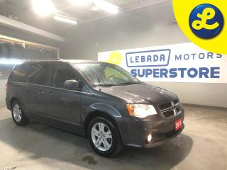 Used 2019 Dodge Grand Caravan Crew Plus * Navigation * Over Head DVD Player W/ HDMI & AV Inputs * Heated Leather Seats * Dual Climate Control * Cruise Control * Steering Wheel Cont for sale in Cambridge, ON