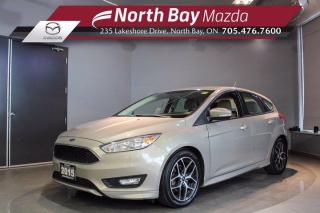 Used 2015 Ford Focus SE - Heated Seats - Heated Steering Wheel - Bluetooth for sale in North Bay, ON