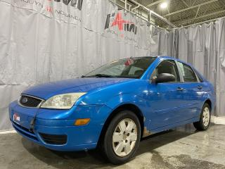 Used 2007 Ford Focus 4DR SDN S for sale in Rouyn-Noranda, QC