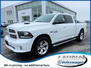 Used 2017 RAM 1500 Sport 4x4 - 1 owner - Loaded! for sale in PORT HOPE, ON