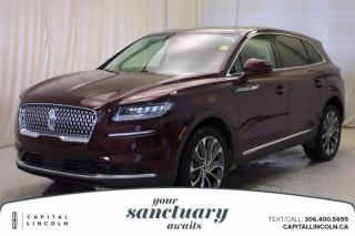 New 2021 Lincoln Nautilus RESERVE for sale in Regina, SK