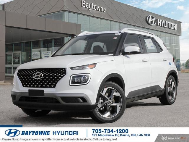 2021 Hyundai Venue FWD Ultimate w/ Black Interior