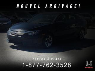Used 2017 Honda Civic LX + AUTO + A/C + CAMERA + CRUISE + WOW! for sale in St-Basile-le-Grand, QC