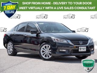 Used 2015 Honda Accord Touring TOURING PKG | MOONROOF | LEATHER | MANUAL TRANSMISSION for sale in Welland, ON