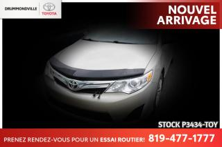 Used 2013 Toyota Camry BAS KILO| IMPECCABLE| ENTRETIEN COMPLET CONCESSION for sale in Drummondville, QC