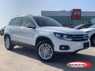 Used 2016 Volkswagen Tiguan for sale in Midland, ON