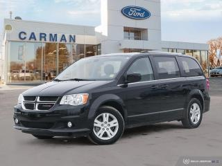 Used 2020 Dodge Grand Caravan Crew Plus for sale in Carman, MB