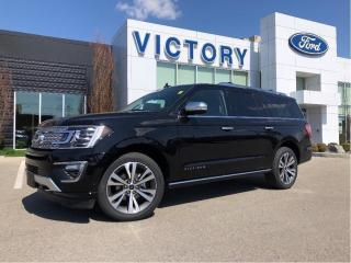 New 2021 Ford Expedition Max Platinum for sale in Chatham, ON