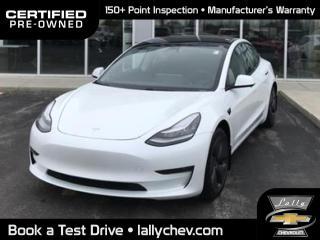 Used 2020 Tesla Model 3 Standard Range Plus | Auto Pilot Equi | RWD for sale in Tilbury, ON