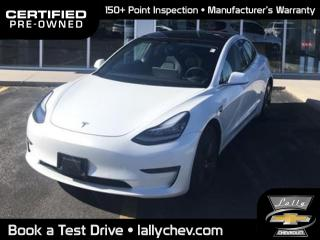 Used 2020 Tesla Model 3 Standard Range Plus | Auto Pilot Equi | RWD STANDARD RANGE PLUS|PANORAMIC ROOF|LEATHER|TOUCH S for sale in Tilbury, ON