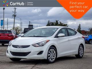 Used 2013 Hyundai Elantra GL Bluetooth Heated front Seats Keyless Entry Power windows for sale in Bolton, ON