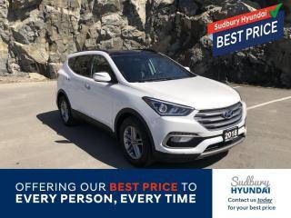 Used 2018 Hyundai Santa Fe Sport 2.4 SE Remote starter included! for sale in Sudbury, ON