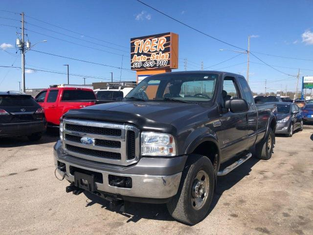 2007 Ford F-250 4X4**DIESEL*ONLY 135KMS*5TH WHEEL HITCH*CERTIFIED