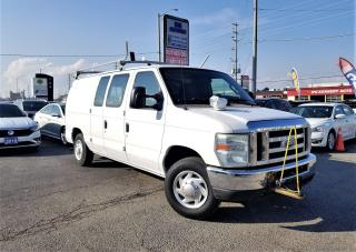 Used 2010 Ford Econoline No Accidents | E-150 Commercial Van |Certified for sale in Brampton, ON