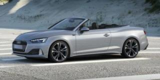 New 2021 Audi A5 Cabriolet Technik for sale in Winnipeg, MB