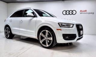 Used 2015 Audi Q3 Technik w/S-Line Package & Navigation *Low KM* for sale in Winnipeg, MB