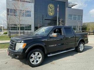 Used 2010 Ford F-150 CrewCab, 4X4, Leather, Sunroof, Auto, Warranty Ava for sale in Toronto, ON