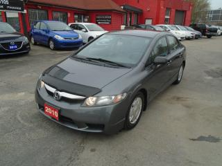 Used 2010 Honda Civic DX-G/ ALLOYS/ PWR WINDOWS AND LOCKS / A/C / for sale in Scarborough, ON