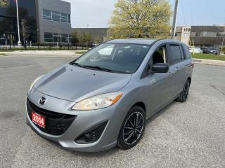Used 2014 Mazda MAZDA5 Automatic, 6 Passengers, 3 Years warranty Availabl for sale in Toronto, ON