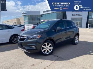 Used 2017 Buick Encore Premium | Heated Steering Wheel | Navigation | for sale in Winnipeg, MB