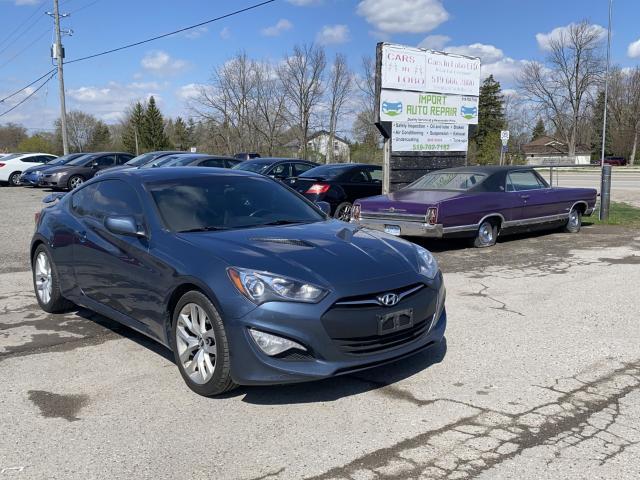 2013 Hyundai Genesis Coupe NAV,  fully loaded