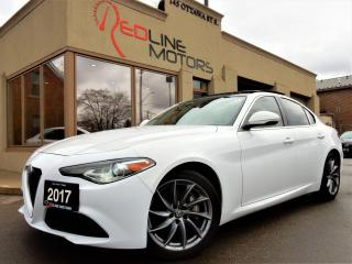 Used 2017 Alfa Romeo Giulia AWD.Navigation.Camera.ParkAssist.PanoramicRoof for sale in Kitchener, ON