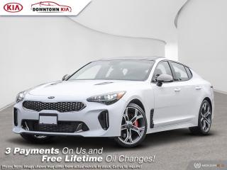 New 2021 Kia Stinger GT Limited Black INT. for sale in Vancouver, BC