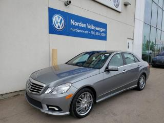 Used 2010 Mercedes-Benz E-Class E 550 LUXURY 4MATIC AWD - 2 SETS OF WHEELS for sale in Edmonton, AB