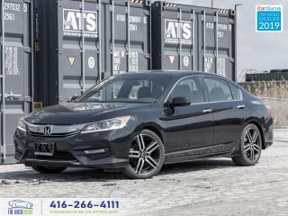 Used 2017 Honda Accord Sport|Camera|Heated seats|Bluetooth|Clean Carfax| for sale in Bolton, ON
