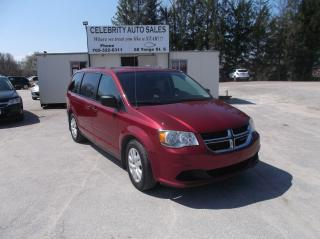 Used 2014 Dodge Grand Caravan SXT for sale in Elmvale, ON