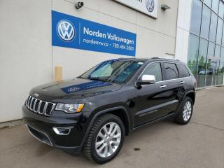 Used 2017 Jeep Grand Cherokee LIMITED - LEATHER / PANO ROOF / NAVI / LOADED for sale in Edmonton, AB