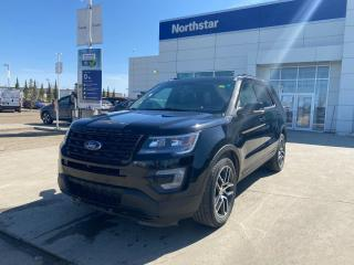 Used 2016 Ford Explorer SPORT AWD/LEATHER/NAV/PANOROOF/BACKUPCAM for sale in Edmonton, AB
