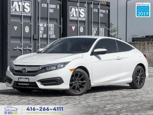 2017 Honda Civic LX|Manual|Clean Carfax|Heated seats|