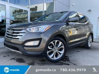 Used 2013 Hyundai Santa Fe LIMITED - 2.0T, AWD, LEATHER, PANO SUNROOF, REAR HEATED SEATS, GREAT VALUE! for sale in Edmonton, AB