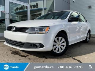Used 2013 Volkswagen Jetta Sedan TRENDLINE - MANUAL POWER OPTIONS DEALER MAINTAINED GREAT CONDITION for sale in Edmonton, AB