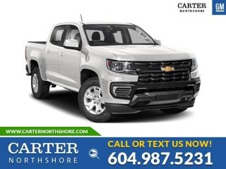 New 2021 Chevrolet Colorado WT TRAILERING PACKAGE - BEDLINER - CRUISE CONTROL for sale in North Vancouver, BC