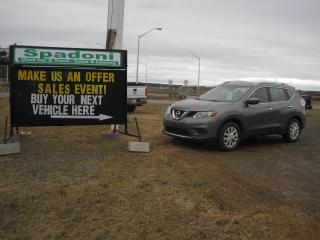 Used 2016 Nissan Rogue S for sale in Thunder Bay, ON