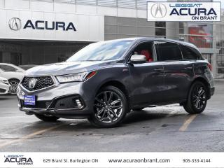 Used 2019 Acura MDX A-Spec Acura Certified, Clean Car Fax! for sale in Burlington, ON