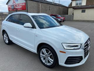 Used 2016 Audi Q3 ** TECHNIK, S-LINE, AWD, SUNROOF, HTD LEATH  * for sale in St Catharines, ON