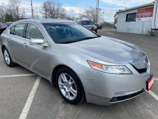Used 2010 Acura TL ** HTD LEATH, BLUETOOTH , DUAL CLIMATE  ** for sale in St Catharines, ON