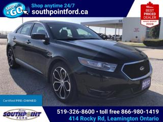 Used 2013 Ford Taurus SHO|AWD|NAV|HTD & COOLED SEATS|HTD STEERING|SUNROOF for sale in Leamington, ON