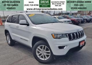 Used 2018 Jeep Grand Cherokee Laredo Low K's 4x4 Heated Seats Bluetooth/UApps Backup Cam for sale in Belle River, ON